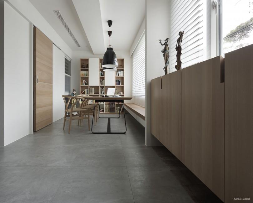 透過陳設、機能構成開放尺度的主題,延伸空間感受。