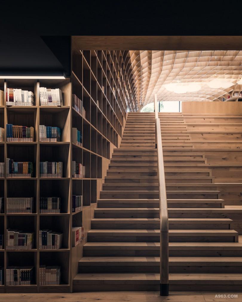 """全上海最文艺邻里中心 """"即使在最豪华的小区,阅读仍然是不可或缺、温暖人心的场所"""" — 俞挺"""