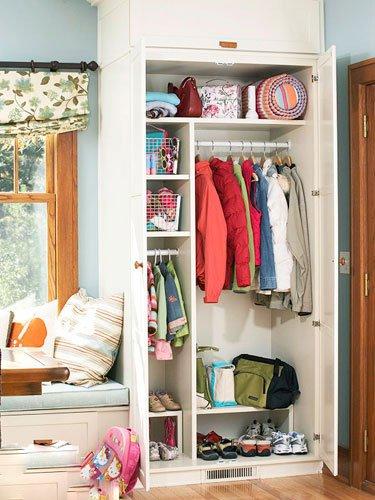 18款入户玄关鞋柜装修效果图大全 美观与实用共存