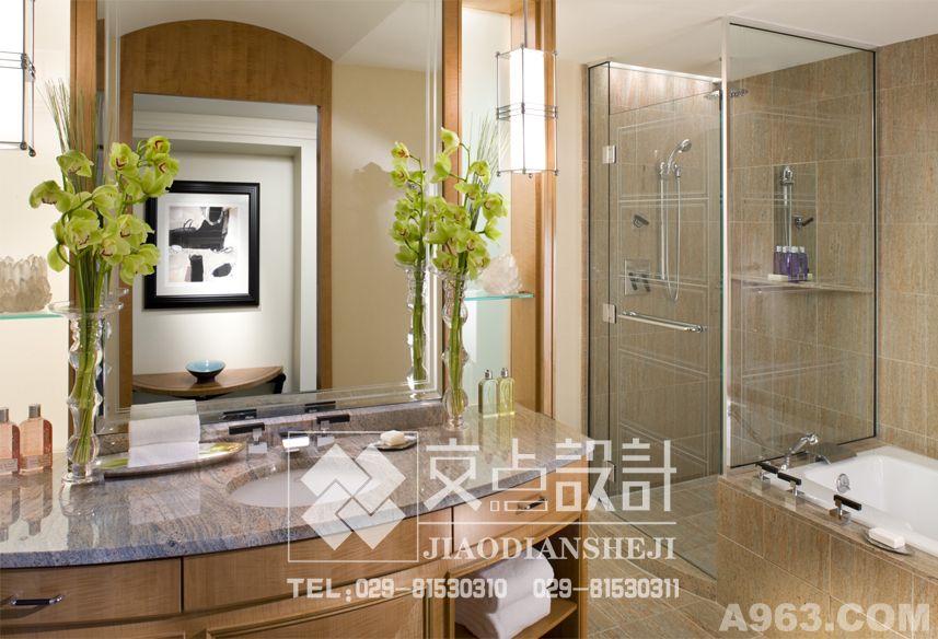 西安交点设计商务酒店设计案例欣赏