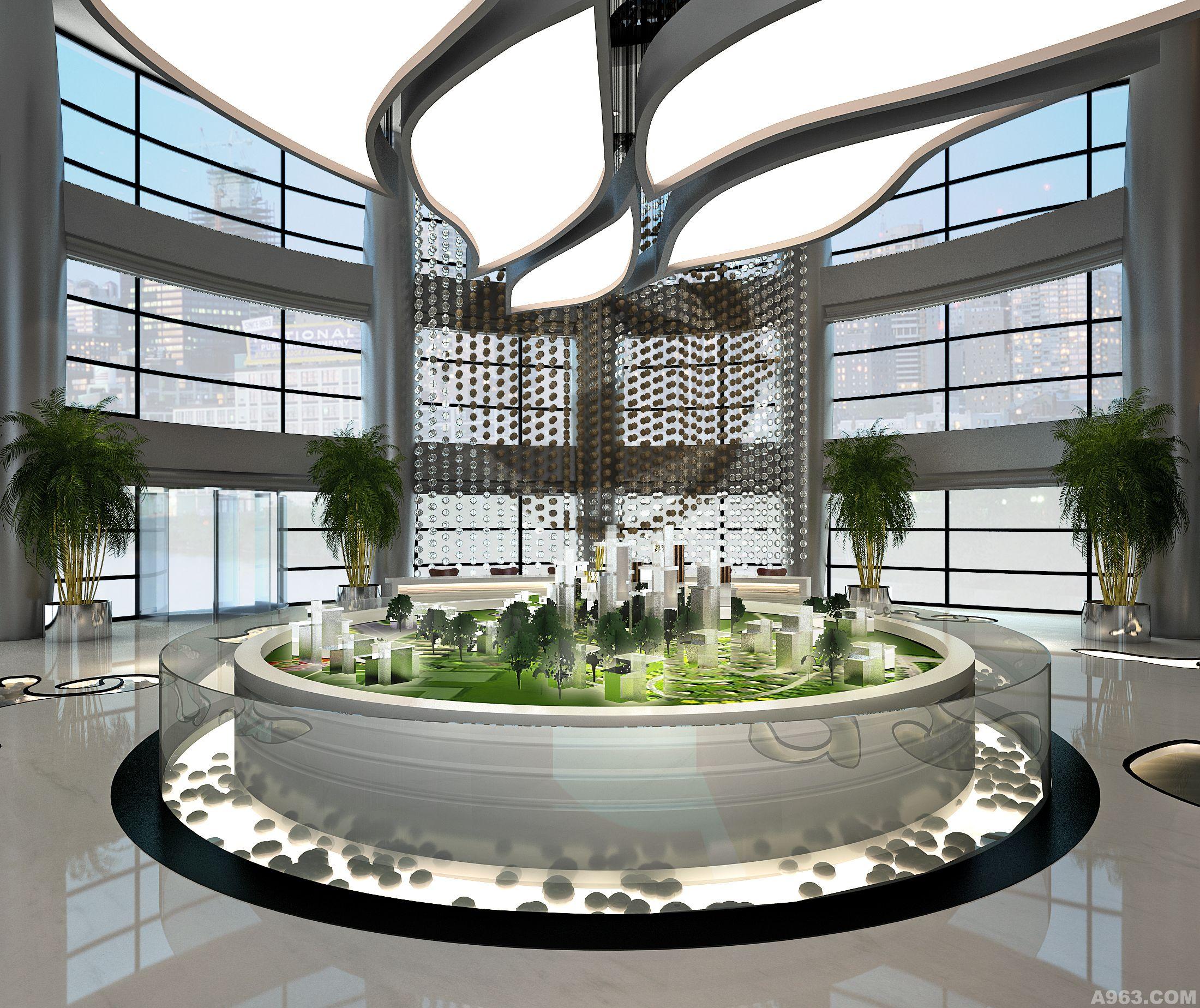 昆明滇池国际会展中心售楼部