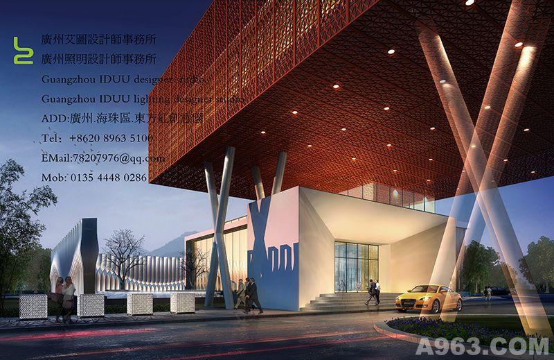 山西圣通销售中心建筑设计、室内设计、景观设计