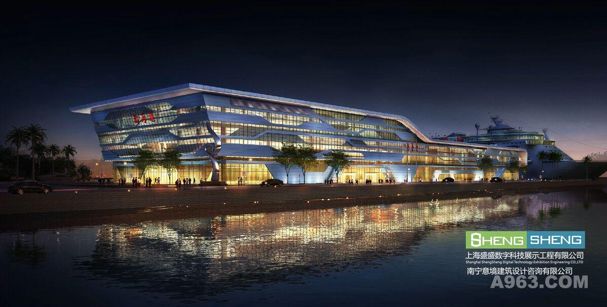 广西三维效果图制作公司为客户制作的建筑效果图作品