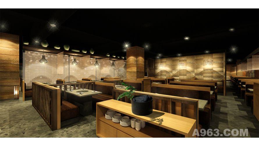深圳华侨城韩客莱餐厅设计