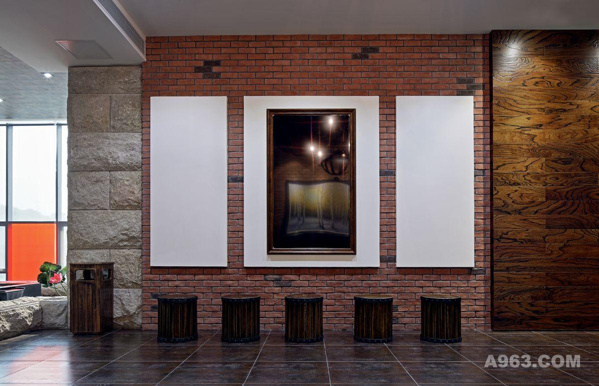王五平作品:艺术红砖--深圳阿基米设计地产全案联合图片