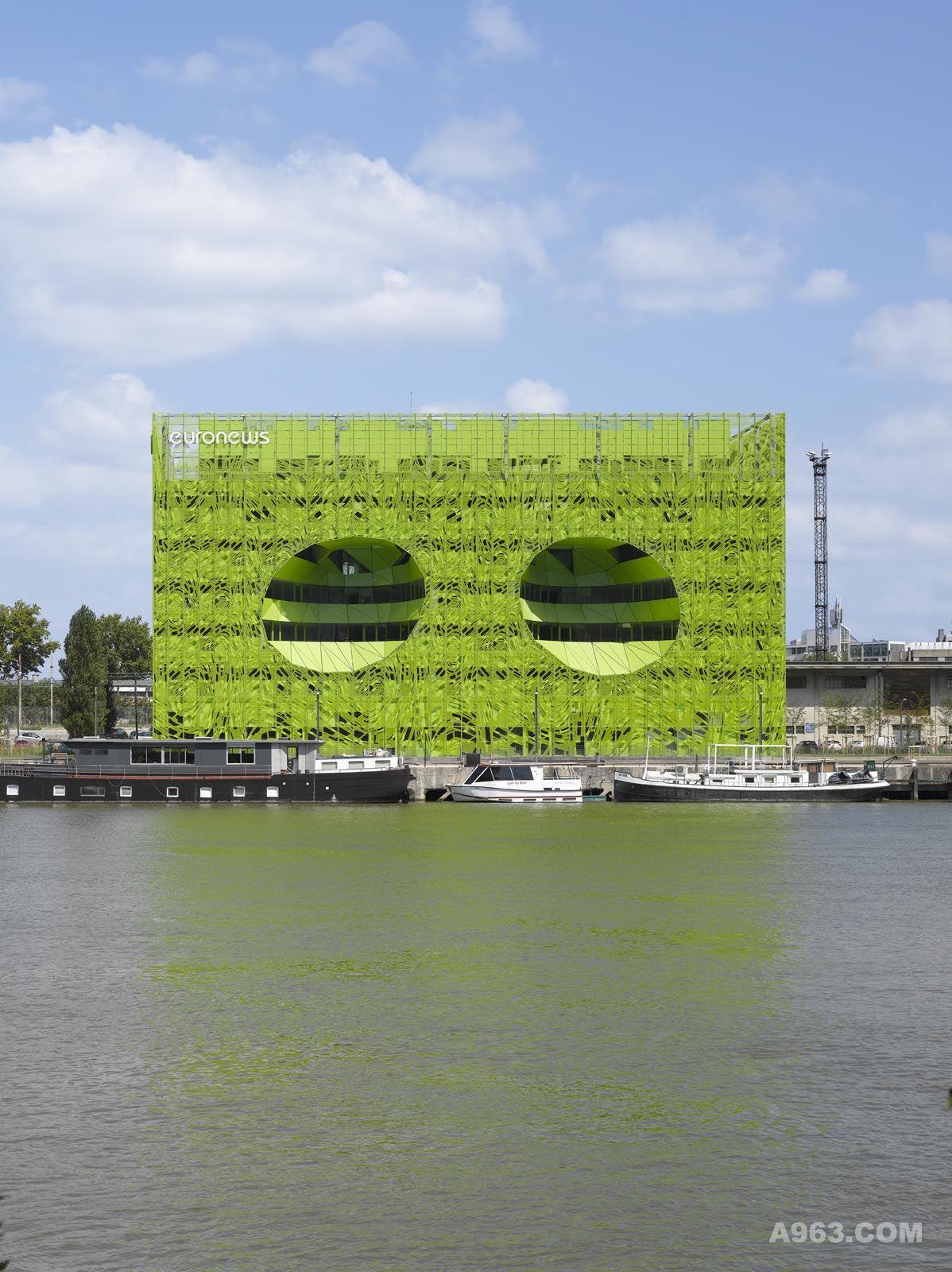 绿立方-欧洲新闻电视台总部