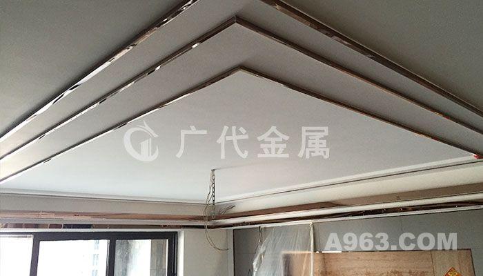 千灯湖一号李宅不锈钢装饰工程,富丽辉煌的代表
