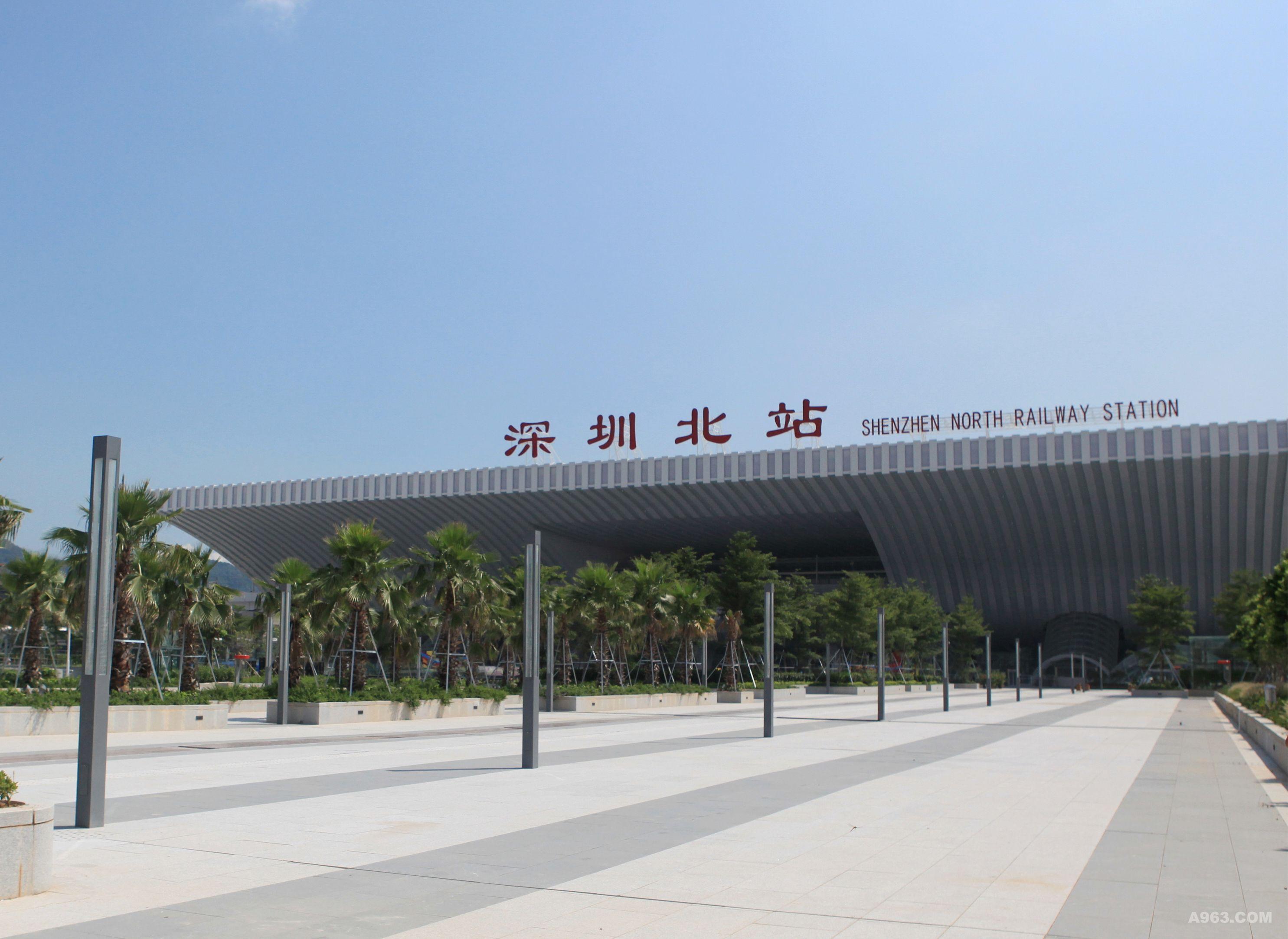 深圳北站综合交通枢纽
