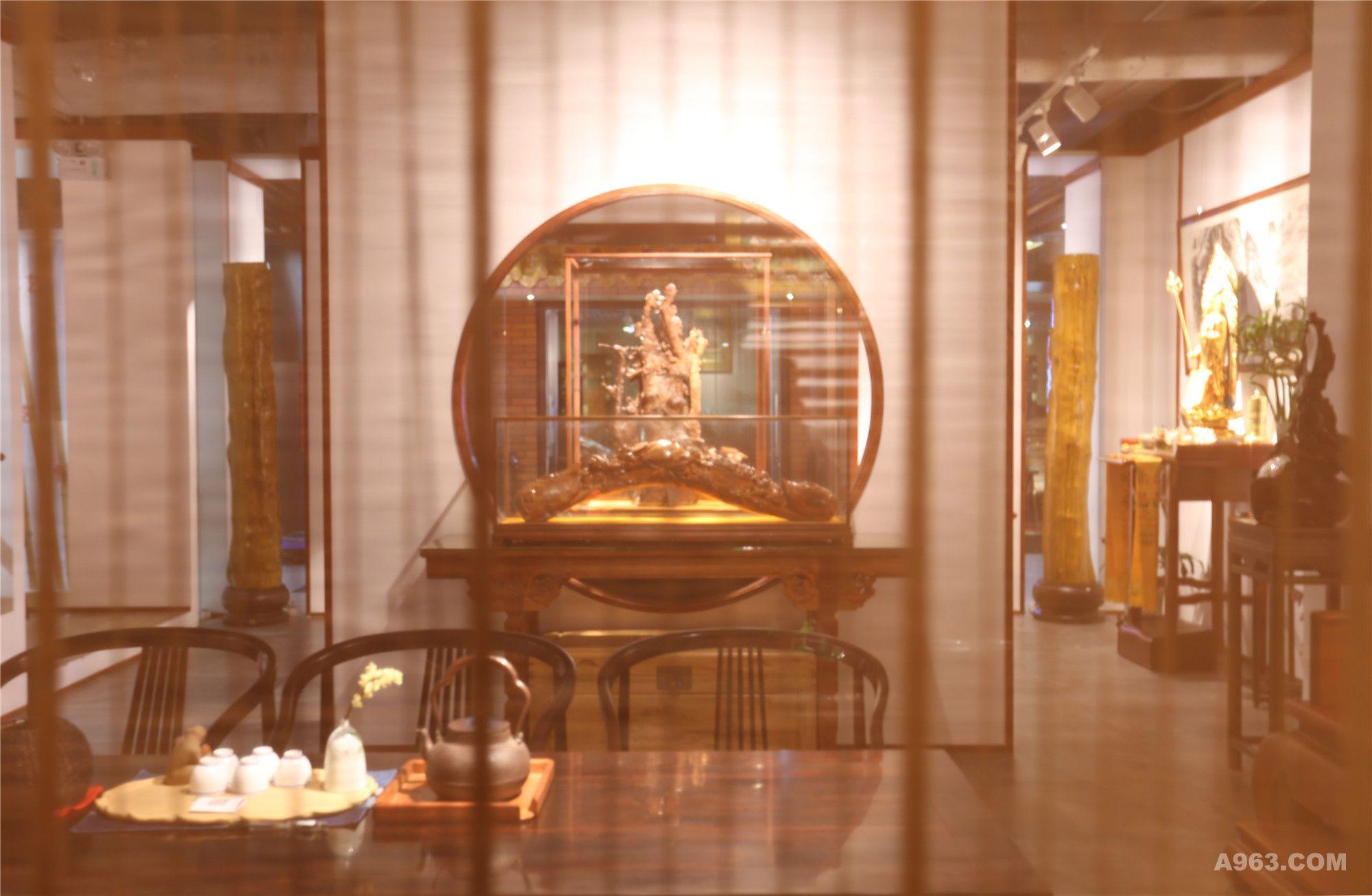 一心设计组   龍熙堂红木艺术展厅
