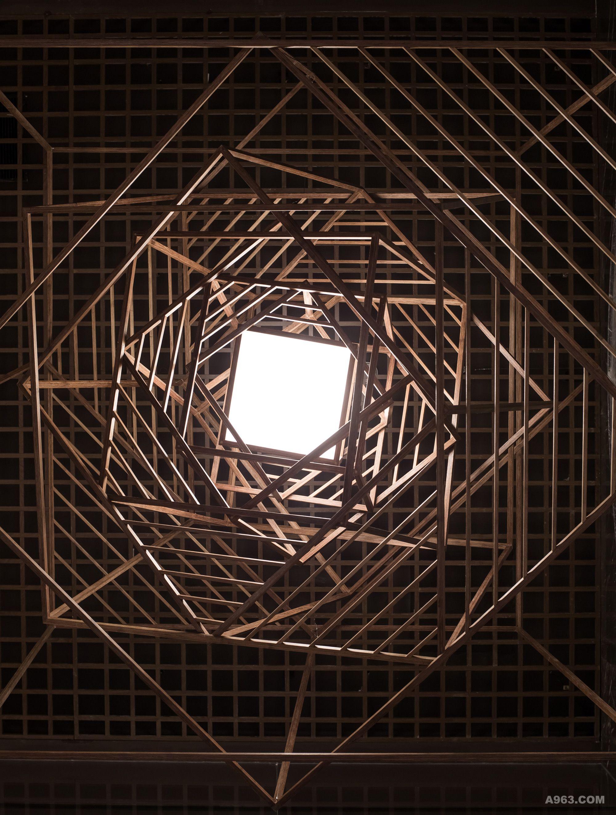 2015首旅集团诺金酒店大堂装置艺术- ROSE