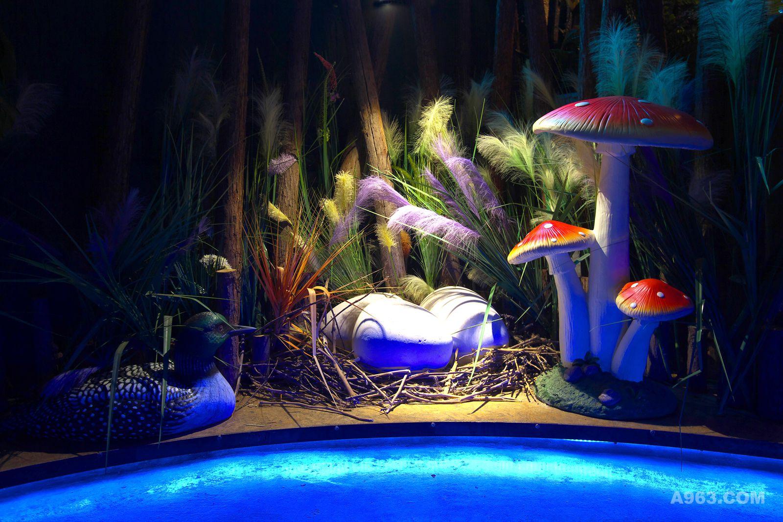邢台神秘花园餐厅—一条童话故事里的小河