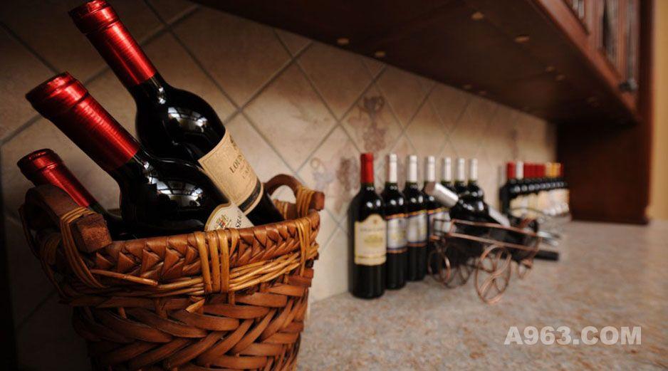 欧罗巴美式风格酒窖
