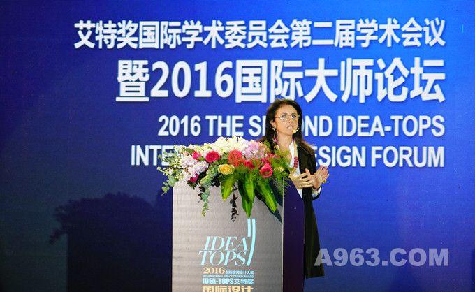 美国麻省理工学院客座教授、C+S设计公司总裁Maria Alessandra Segantini