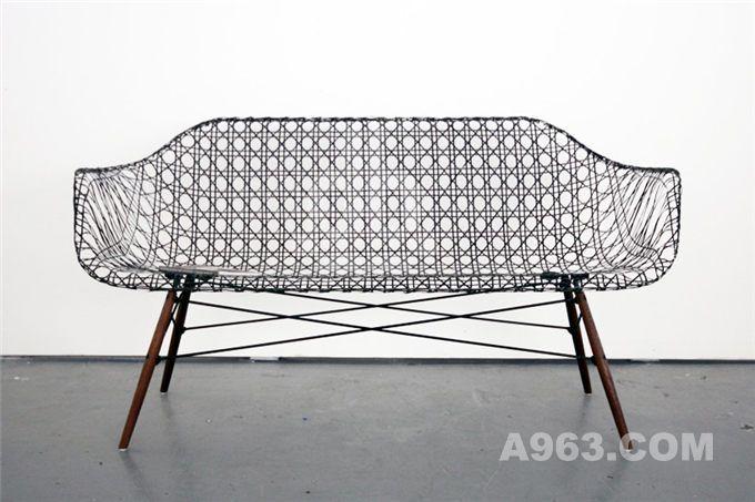 创新设计的伊姆斯碳素纤维沙发