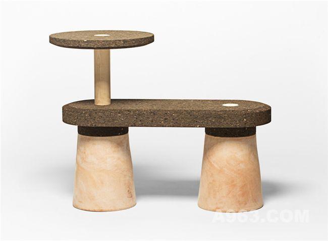 由可持续发展材料制成的环保座椅