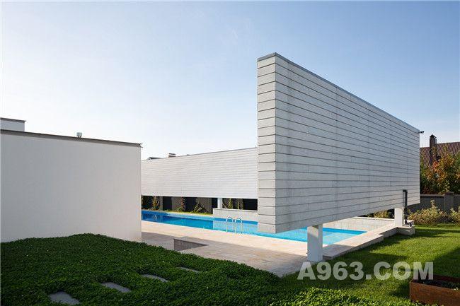 住宅露天泳池