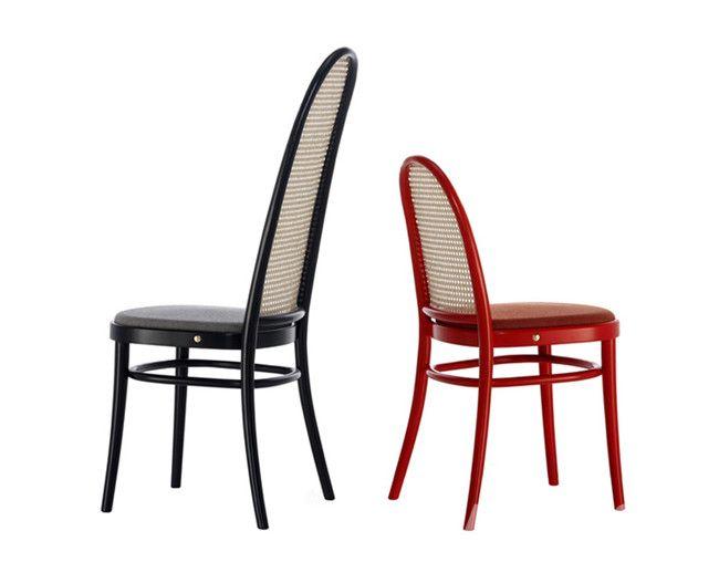 """""""morris""""椅子是对thonet经典椅子的再次诠释"""