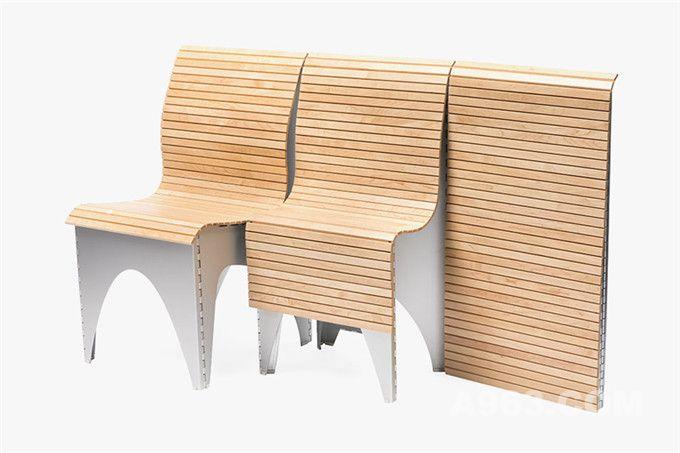收放自如的新式时尚折叠椅