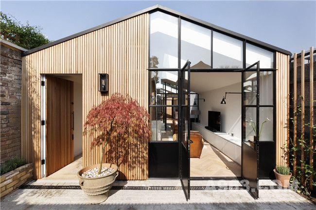 居住空间的彼此流动丨一宅三院