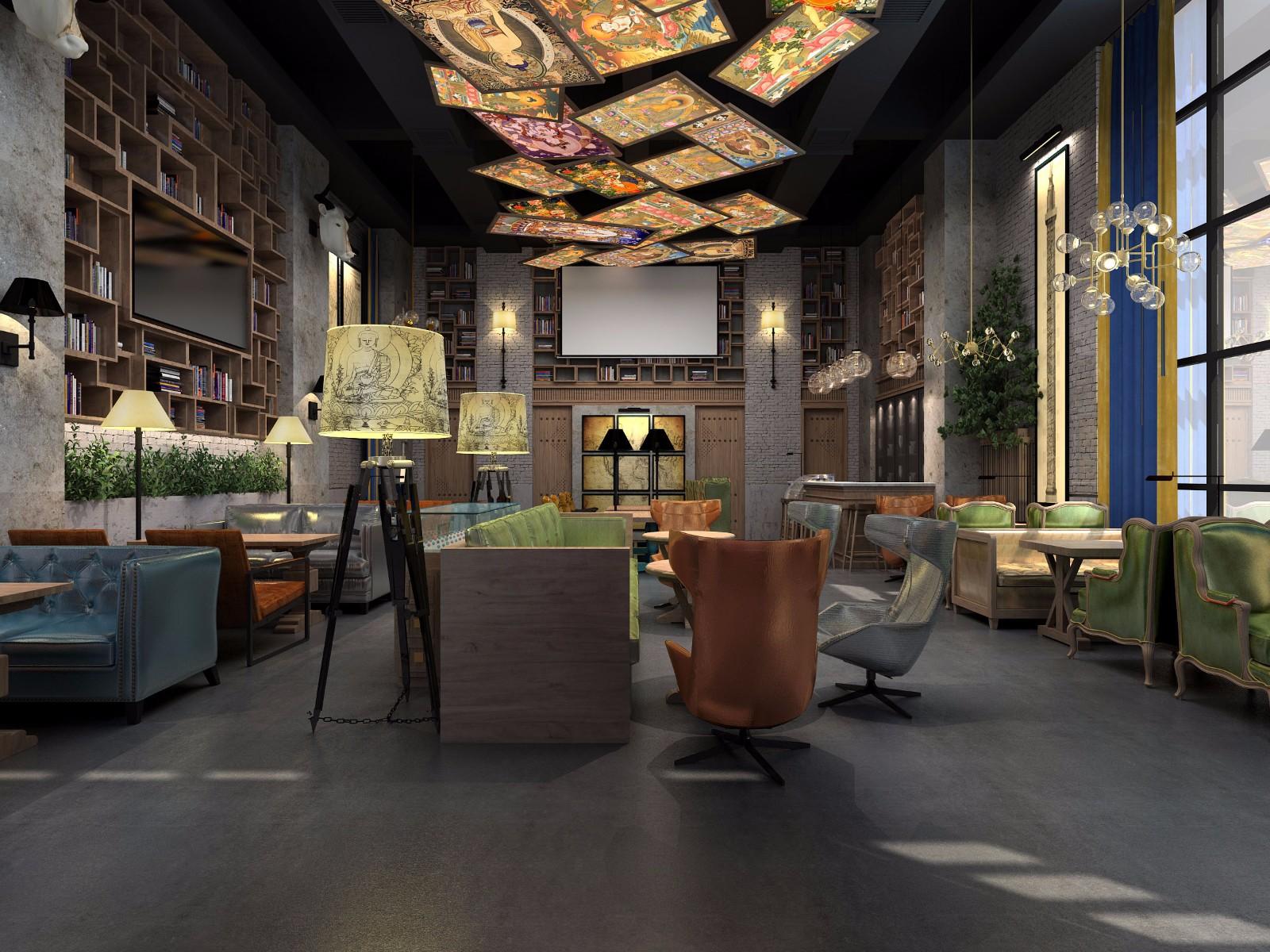 咖啡厅设计方案----合肥纳兰咖啡厅