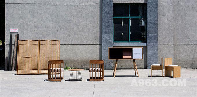 既现代又怀旧的竹制家具系列