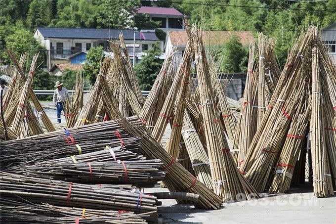 原材料:自于浙江省的竹子