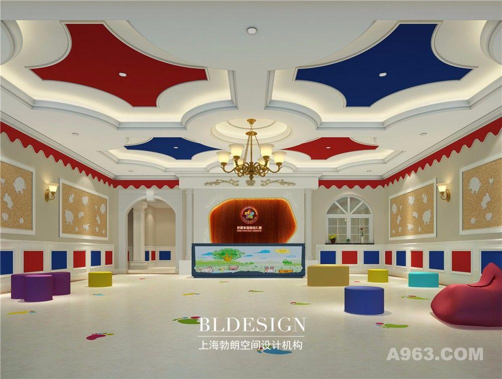 专业幼儿园设计——郑州巴莱多国际幼儿园设计案例