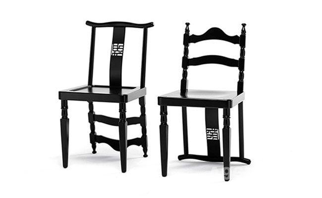 经典的融合——多风格的榉木椅子