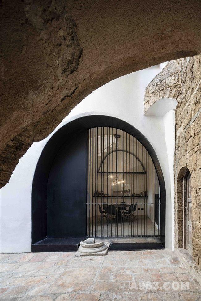 感受历史之美的以色列洞居