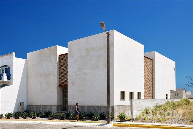 光与影的博弈,墨西哥时尚住宅