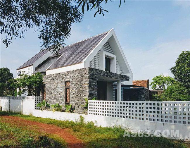 充满浪漫气息的越南建筑师住宅
