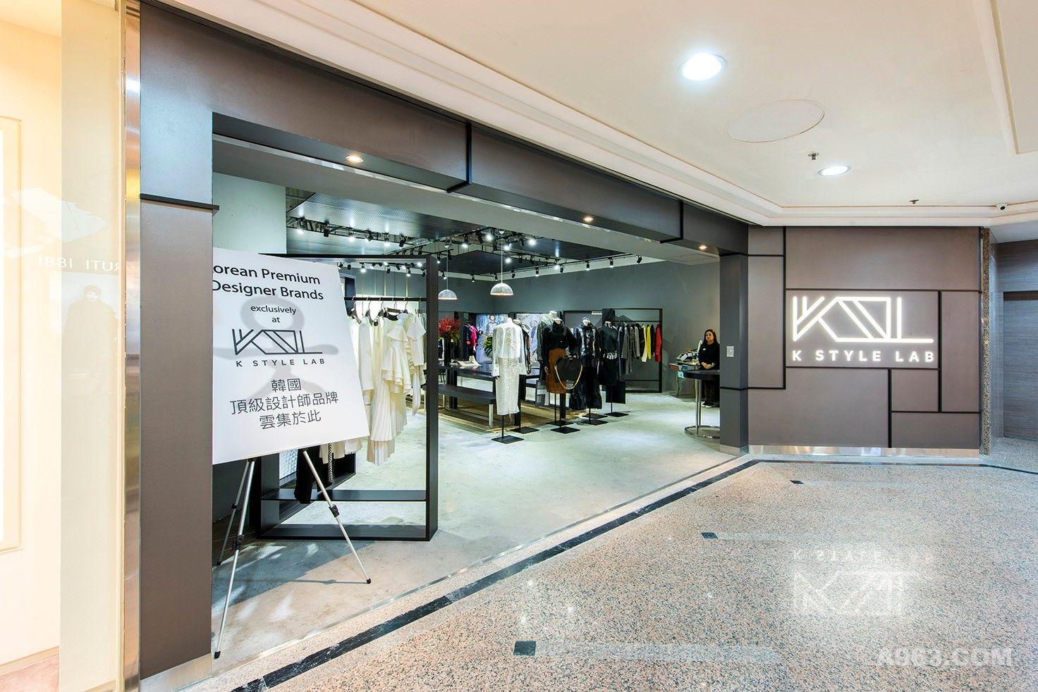 K Style Lab韩国时装店室内设计