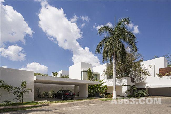 开放空间:清新舒适的墨西哥别墅