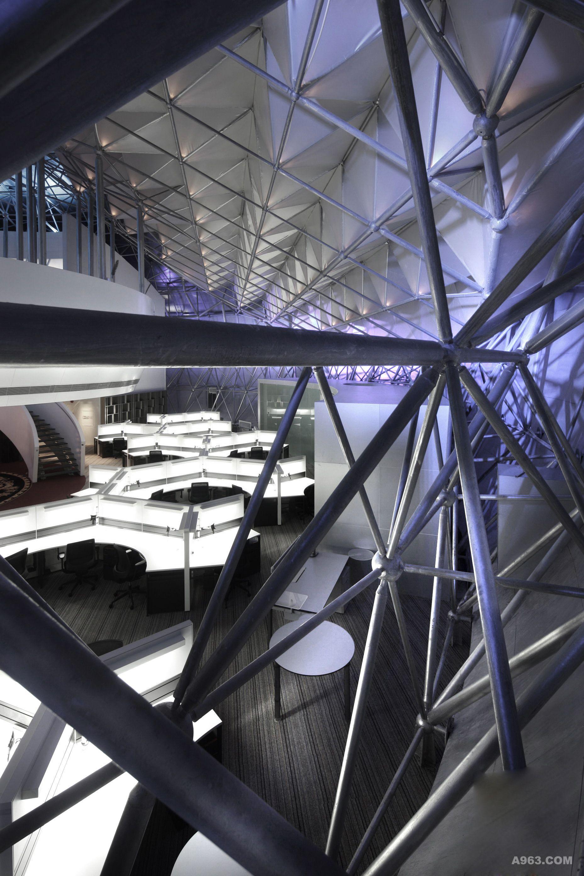 生物谷办公楼设计——本至办公设计