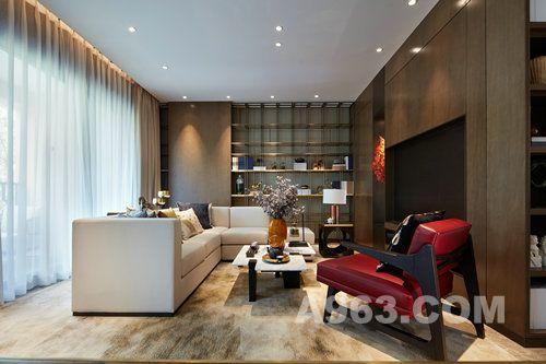 【印象空间】湖光山色新中式样板房:一种低调、精致的生活态度