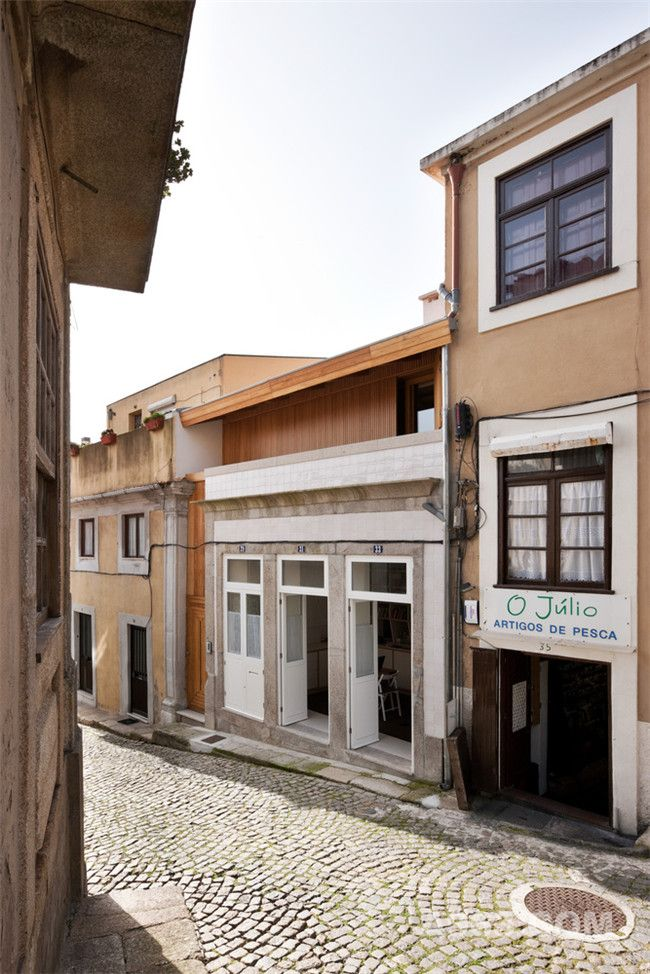 葡萄牙百年地下住宅外观