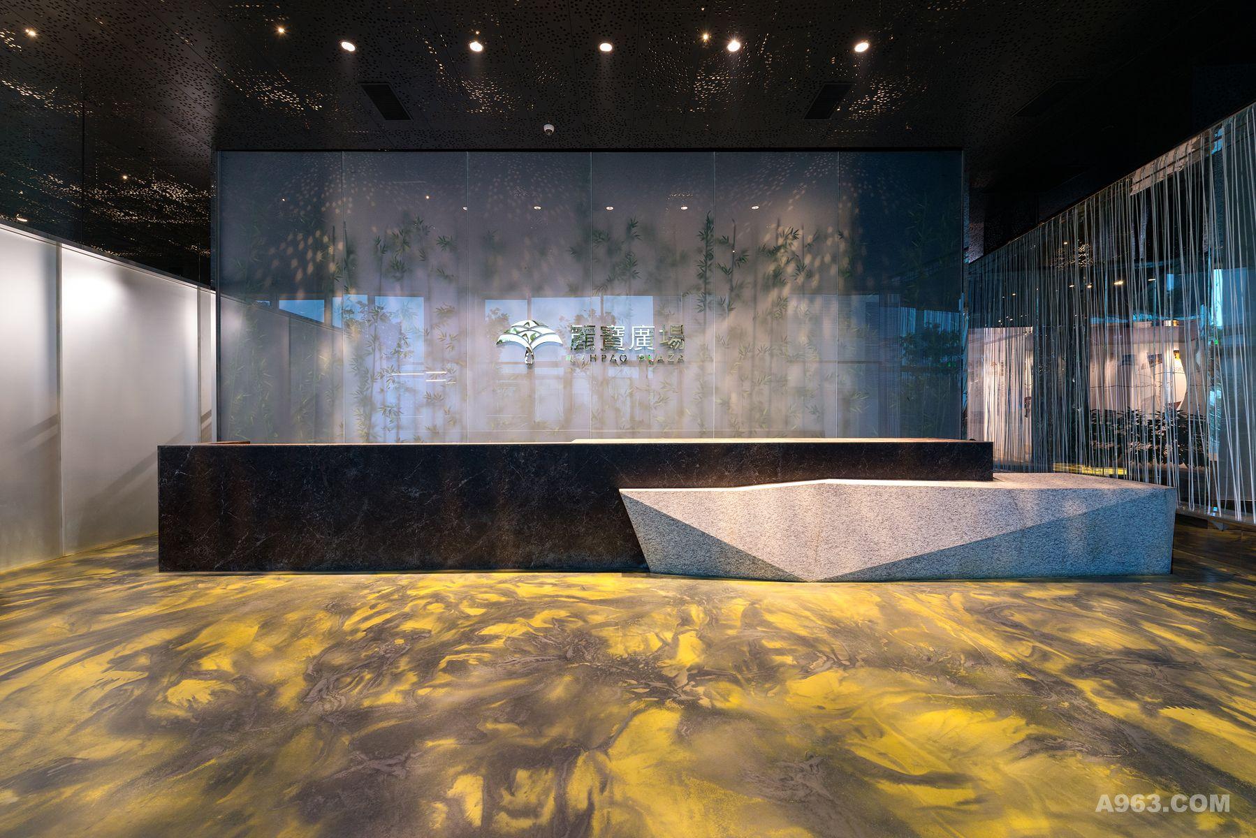 虹桥丽宝广场售楼处及样板层-抽象的自然