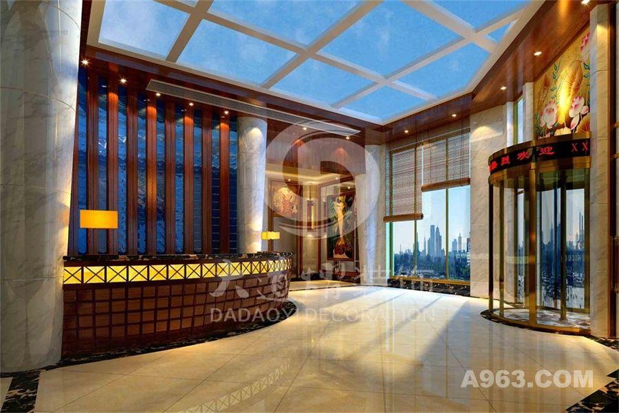 天子圣泽酒店装修设计案例