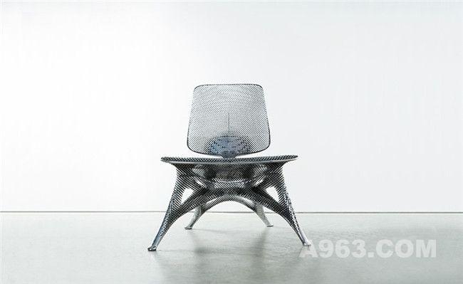 数字时代下的创新型3D打印铝制椅