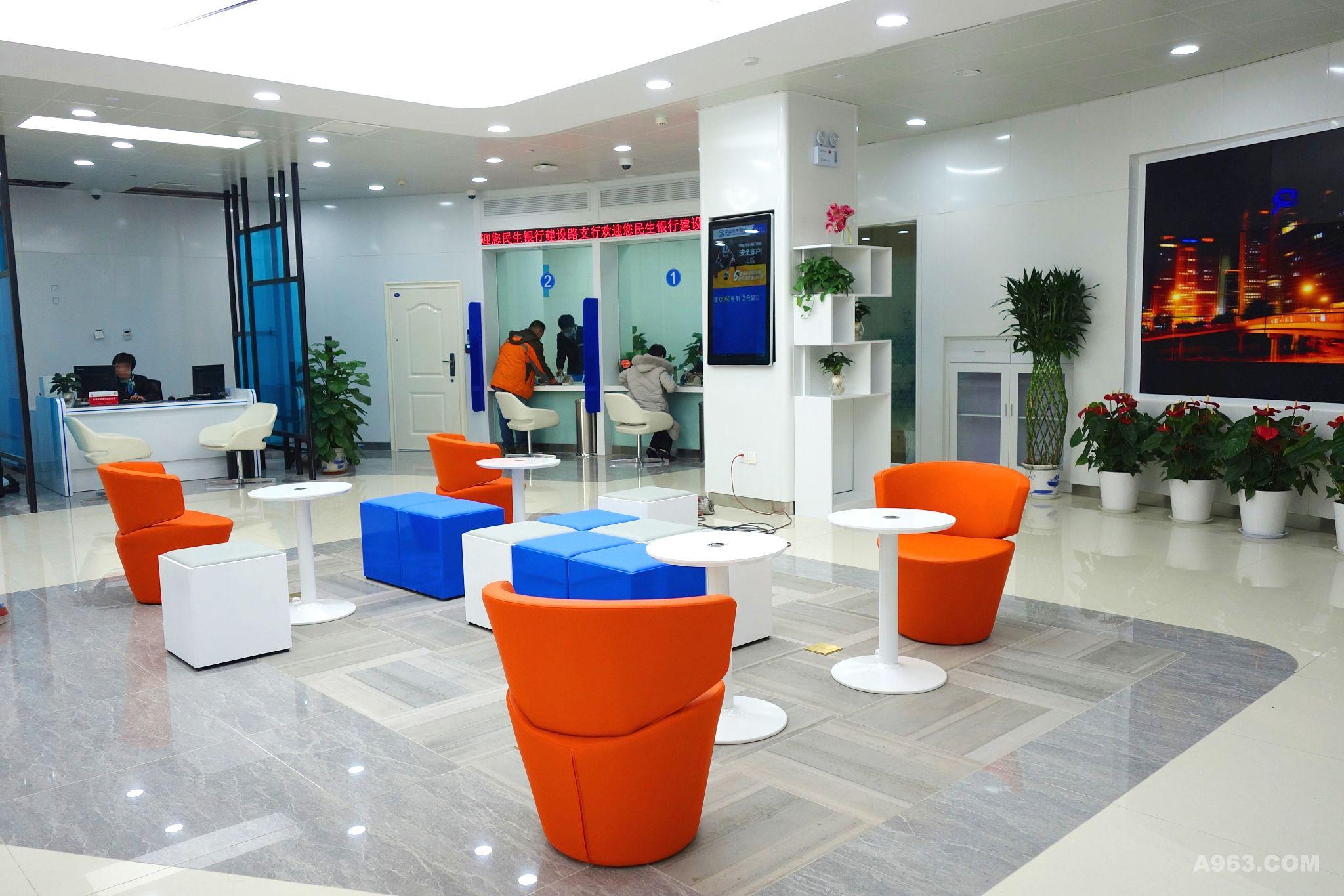 中国民生银行旗舰网点设计