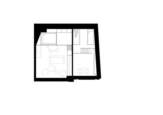 再设计丨彰显黑白极致的波兰公寓