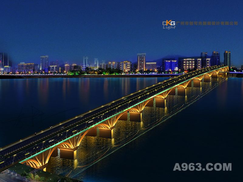 北江双桥公园照明设计