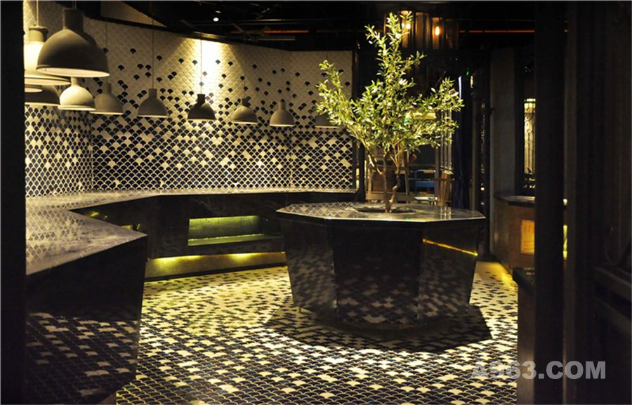 杭州品尚设计---德雷克海鲜自助餐厅设计