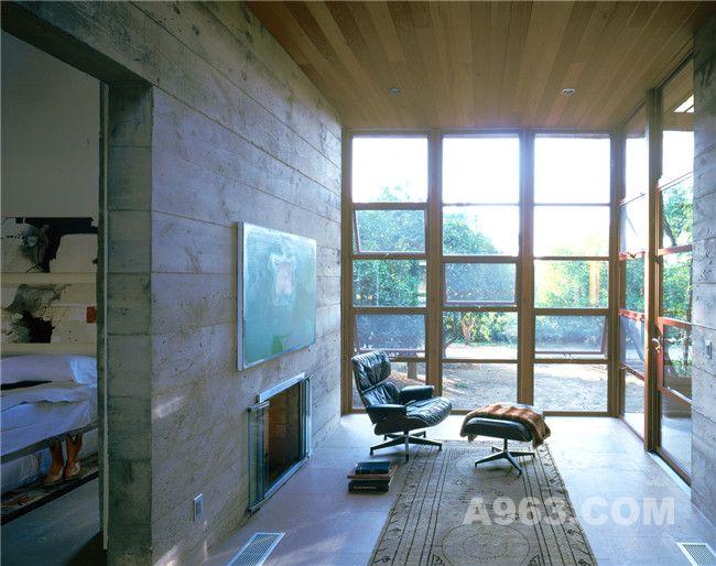 坐拥美丽自然景观的山谷住宅