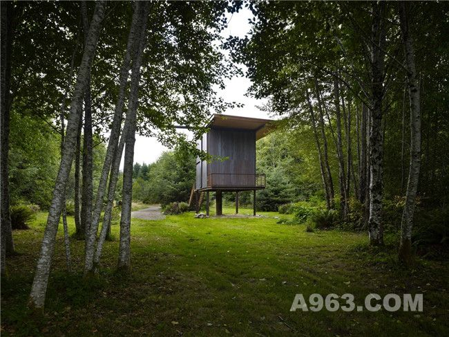 诗意生活:37平方米的垂钓小屋