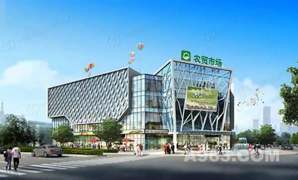 临平新城农贸市场规划设计
