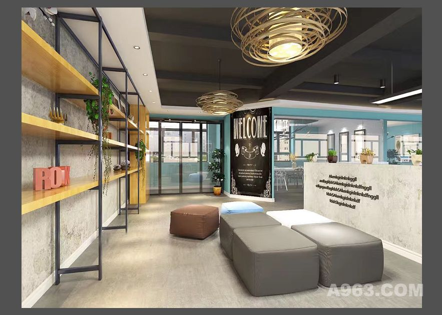 设计公司办公室装修设计