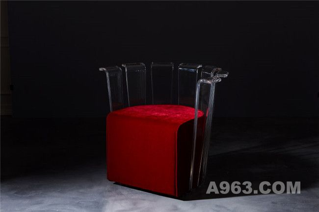 金属结合化学材料的创意家具