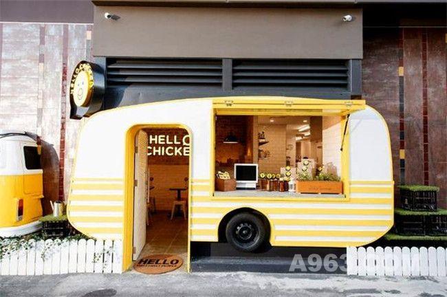 世界上最可爱的炸鸡店Hello Chicken