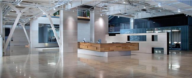 前台接待区 Reception area
